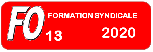 FORMATION SYNDICALE 2020
