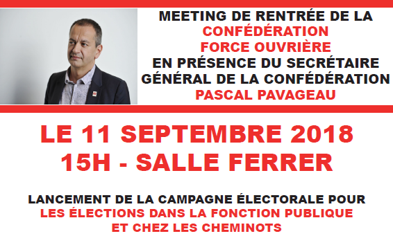 METING DE RENTREE 2018