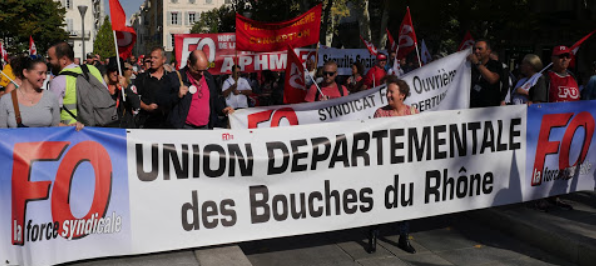 MANIFESTATION DU 09 OCTOBRE 2018
